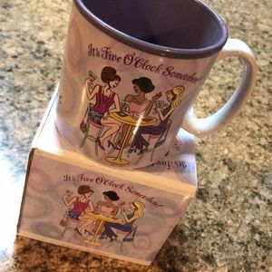 Pampered Girls coffee cup